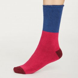Thought Womens Magenta Walker Socks