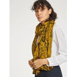 Thought Mustard Woodlands Scarf