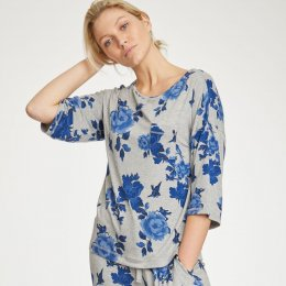 Thought Grey Marl Reanna Pyjama Top