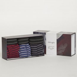 Thought Striped Boxers Gift Box