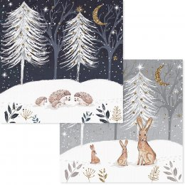 RSPB Christmas Gathering Christmas Cards - Pack of 10