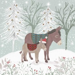 Christmas Cuddles Festive Charity Cards - Pack of 10
