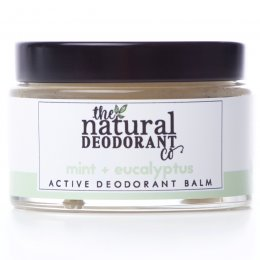 Natural Deodorant Co Active Deodorant Balm - Mint & Eucalyptus - 55g