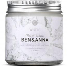 Ben & Anna Natural Toothpaste - White - 100ml