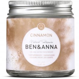 Ben & Anna Natural Toothpowder - Cinnamon - 45g