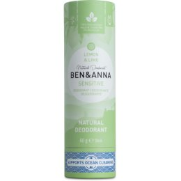 Ben & Anna Natural Sensitive Deodorant - Lemon & Lime - 60g