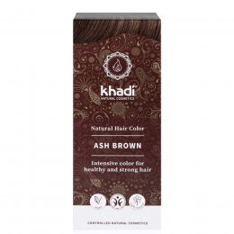 Khadi Herbal Hair Colour - Ash Brown  - 100g