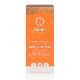 Khadi Herbal Hair Colour Blonde - Medium Blonde - 100g