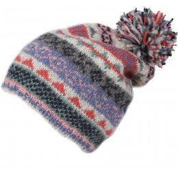 Womens Finisterre Bobble Beanie Hat