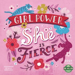 Girl Power 2021 Wall Calendar
