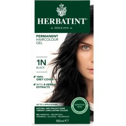 Herbatint Permanent Hair Dye - 1N Black - 150ml