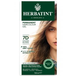 Herbatint Permanent Hair Dye - 7D Golden Blonde - 150ml