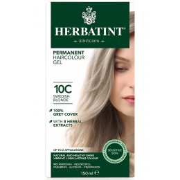 Herbatint Permanent Hair Dye - 10C Swedish Blonde - 150ml