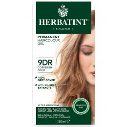 Herbatint Permanent Hair Dye - 9DR Copperish Blonde - 150ml