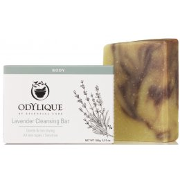 Odylique Lavender Cleansing Soap Bar - 100g