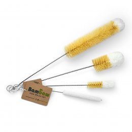Bambaw Glassware Sisal Brushes - Set of 4