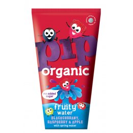 Pip Organic Blackcurrant, Raspberry & Apple Flavoured Water - 4 x 200ml