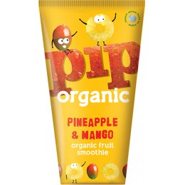 Pip Organic Pineapple & Mango Smoothie - 4 x 180ml