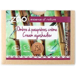 Zao Cream Eye Shadow Refill - Golden Bronze - 3g