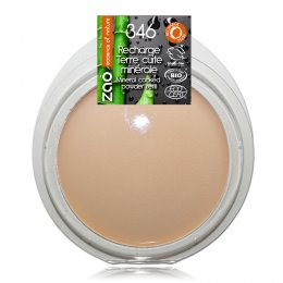 Zao Mattifying Cooked Powder Refill - Bright Complexion - 15g
