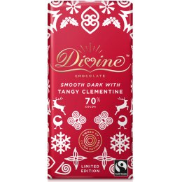 Divine Limited Edition Dark Chocolate with Tangy Clementine - 90g