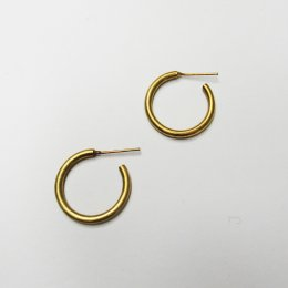Made Brass Mini Casted Hoops
