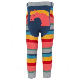 Kite Rainbow Knit Leggings