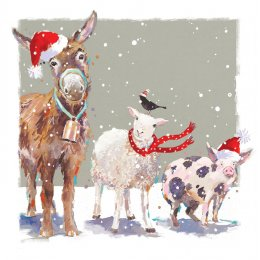Christmas Companions Charity Christmas Cards - Pack of 10