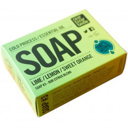 Our Tiny Bees Cold Pressed Soap - Lemon, Lime & Orange - 140g