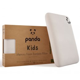 Panda Kids Memory Foam Bamboo Pillow