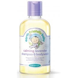 Earth Friendly Baby Organic Shampoo / Bodywash - Lavender - 251ml