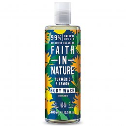 Faith in Nature Turmeric & Lemon Body Wash - 400ml