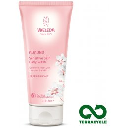 Weleda Almond Sensitive Body Wash - 200ml