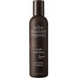 John Masters Organics Shampoo for Damaged Hair with Honey & Hibiscus - 177ml