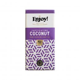 Enjoy Vegan Coconut Chocolate Bar - 35g