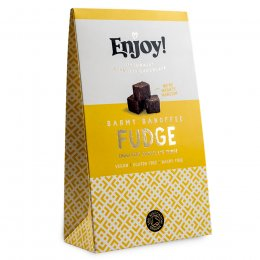 Enjoy Vegan Banoffee Chocolate Fudge - 100g