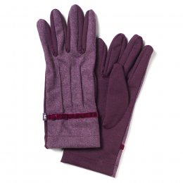 Purple Wool Gloves
