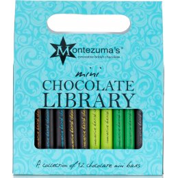 Montezumas Mini Bar Chocolate Library - 360g