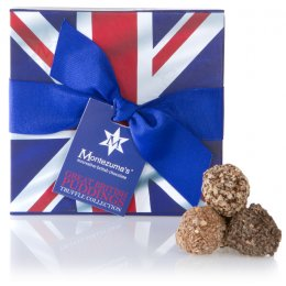 Montezumas Great British Pudding Truffle Box - 220g