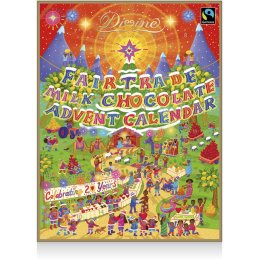 Divine Fairtrade Milk Chocolate Advent Calendar 85g