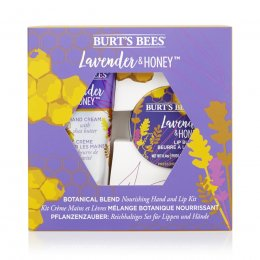 Burts Bees Lavender & Honey Lip & Hand Gift Set