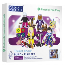 Play Press Toys Talent Show Build and Play Set