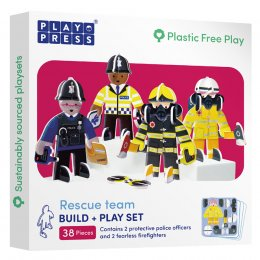 Play Press Toys Rescue Build and Play Set