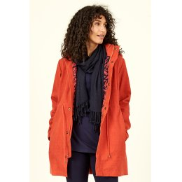 Nomads Organic Cotton Coat - Saffron