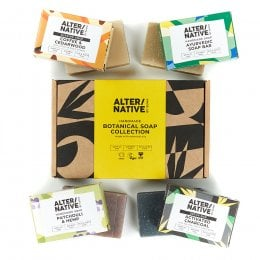 Alternative by Suma Handmade Botanical Soap Gift Set