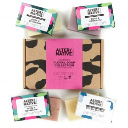 Alternative by Suma Handmade Floral Soap Gift Set