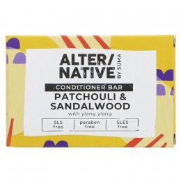 Alternative by Suma Conditioner Bar - Patchouli & Sandalwood - 90g