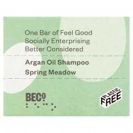BECO Spring Meadow Shampoo Bar - 90g