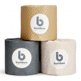 Bumboo Luxury Bamboo Toilet Paper - 48 Roll Carton
