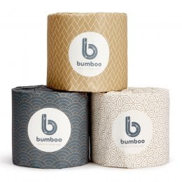 Bumboo Luxury Bamboo Toilet Paper - 24 Roll Carton